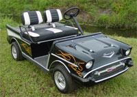 Custom golf cart, 57 chev cart, custom cart