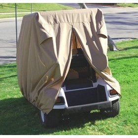 4 Person cart cover, 4 person golf cart cover, golf car storage cover