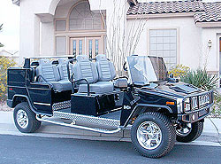 Hummer Limo Cart, Hummer car, H3 Limo Cart,