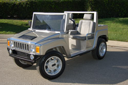 Hummer Golf Cart, golf cart body, custom golf cart bodies