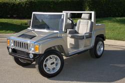 Hummer Golf Cart, H3 golf cart, Escalade golf cart