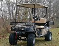 hunting golf cart, camouflage golf cart