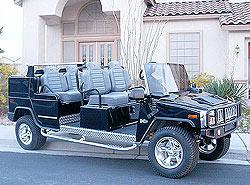 Hummer Limo Cart, Hummer car, H3 Limo Cart,