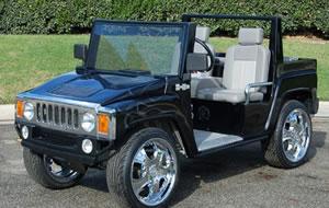 Hummer Cart, H3 Cart, Electric Hummer
