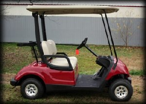 golf cart, electric golf cart
