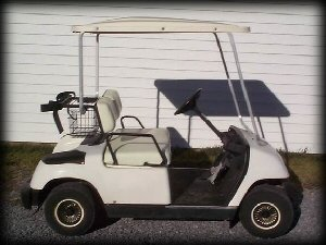 used electric golf cart, used cart, used golf cart